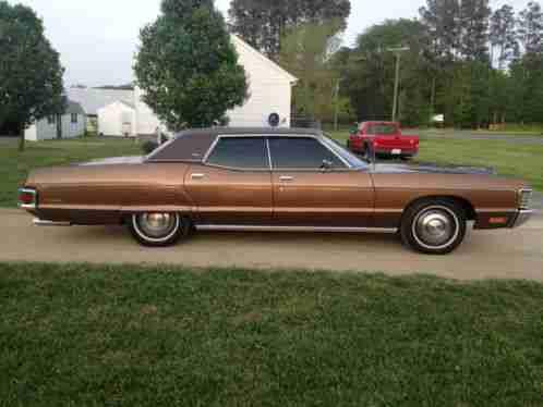 Mercury Monterey 1972 Custom 72 000 Original Miles 4