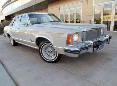 Lexus Santa Barbara >> Mercury Grand Monarch Ghia 1976, finished in Dove Gray with Dove Gray