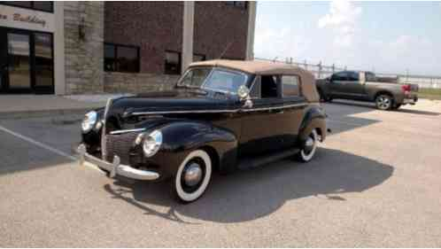 Mercury other 1940 i have for sale a very nice original for 1940 mercury 4 door convertible