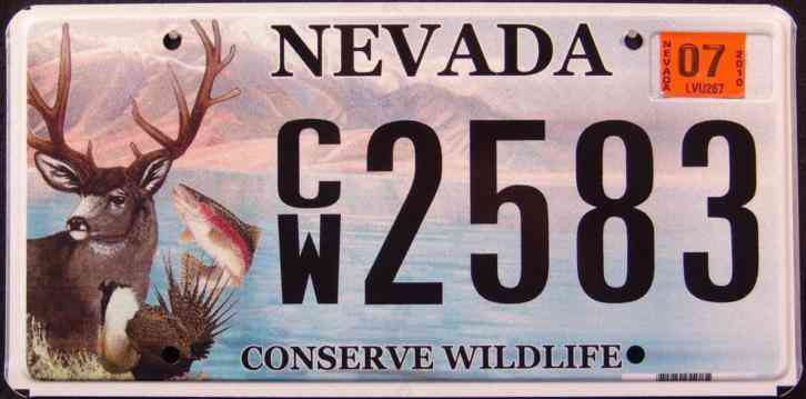Nevada conserve wildlife deer fish bird mountain lake for Oklahoma fishing license age