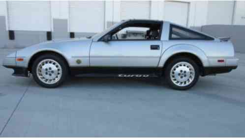 nissan 300zx 50th anniversary edition 1984 before bidding please. Black Bedroom Furniture Sets. Home Design Ideas
