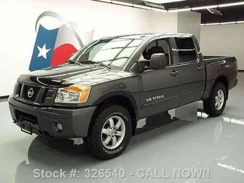 nissan titan pro 4x crew 4x4 bedliner tow 2011 45k mi at texas direct. Black Bedroom Furniture Sets. Home Design Ideas
