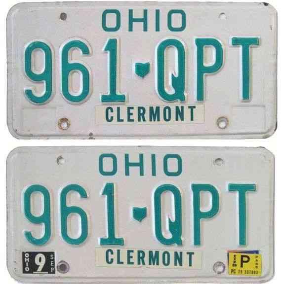 Colorado New Car License Plates