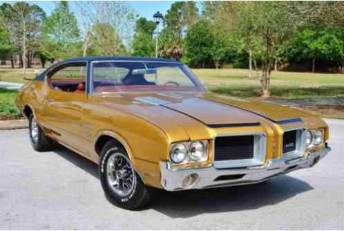 Oldsmobile 442 Numbers Matching 455 (1971)