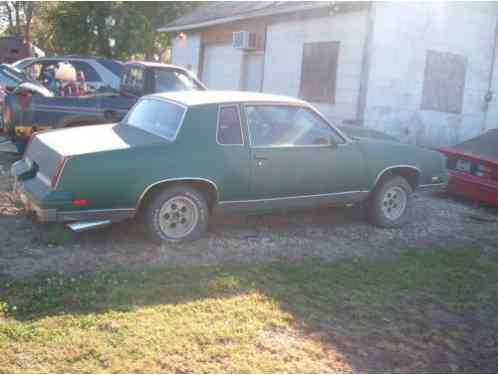 Oldsmobile cutlass 1985 here we have a olds salon coupe for 1985 cutlass salon for sale