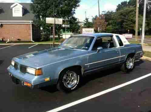 Oldsmobile Cutlass Supreme Brougham 1987 Here For Sale Is