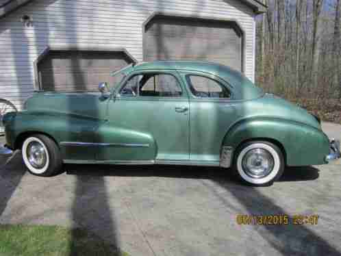 Oldsmobile other 1947 original condition not a body off for 1947 oldsmobile 4 door sedan