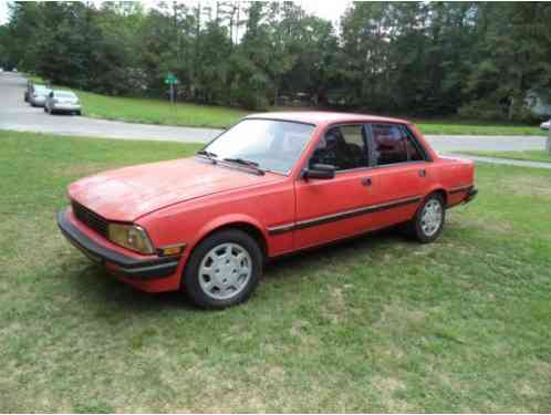 Peugeot 505 1987, WE HAVE HERE A STX V-6, 5 SPEED MANUAL ...