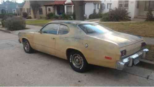 plymouth duster 1974 solid california project car front bucket seats. Black Bedroom Furniture Sets. Home Design Ideas