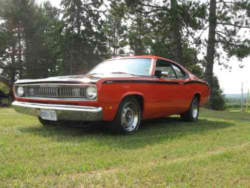 plymouth duster 340 h code 1970 real original 4 speed car still as te. Black Bedroom Furniture Sets. Home Design Ideas