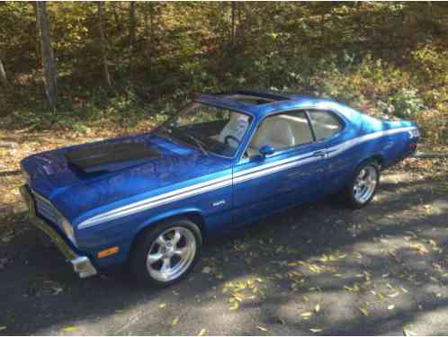 plymouth duster sunroof 1973 up for auction is my 340 4speed factory. Black Bedroom Furniture Sets. Home Design Ideas