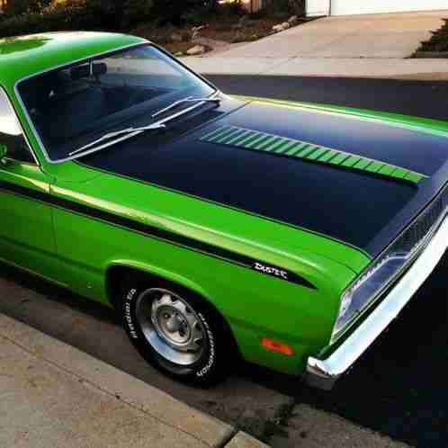 plymouth duster twister 1971 matching numbers a51 code car freshly. Black Bedroom Furniture Sets. Home Design Ideas