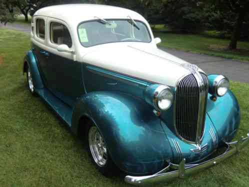 Plymouth Other P6 4 Door Sedan 1938 This Is A Street Rod