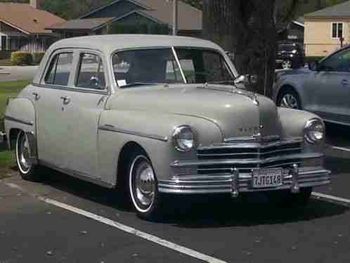 Plymouth other special deluxe 1949 gray 4 door sedan for 1949 plymouth 4 door