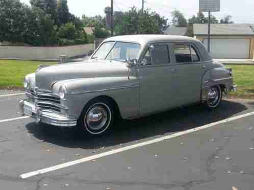Plymouth other special deluxe 1949 gray 4 door sedan for 1949 plymouth 4 door sedan