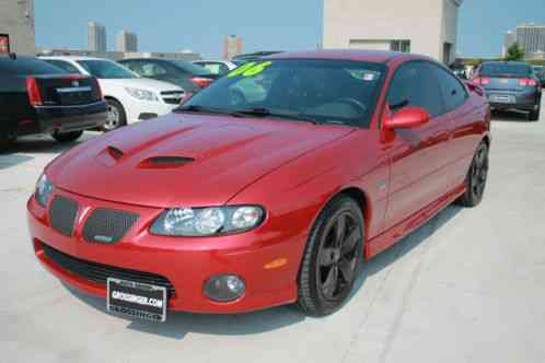 pontiac gto 6 0l 2006 spice red metallic only 20 738 miles car for sale. Black Bedroom Furniture Sets. Home Design Ideas