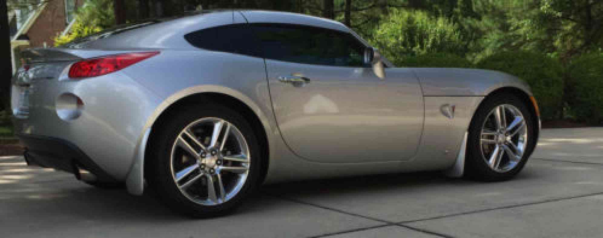 Pontiac Solstice Gxp 2009 Coupe 5 Speed Manual One Owner
