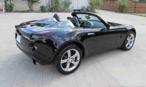 pontiac solstice gxp 2008 turbo mysterious black. Black Bedroom Furniture Sets. Home Design Ideas