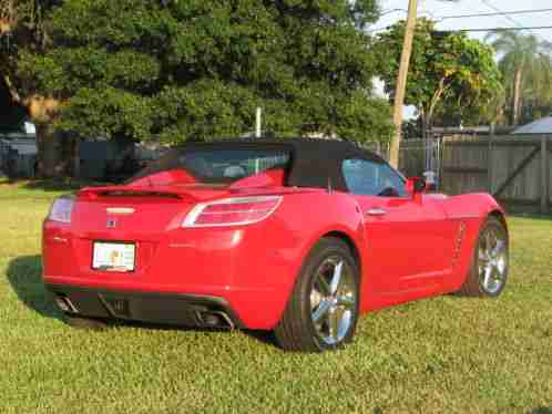 saturn sky red line turbo 2009 convertible auto leather very. Black Bedroom Furniture Sets. Home Design Ideas