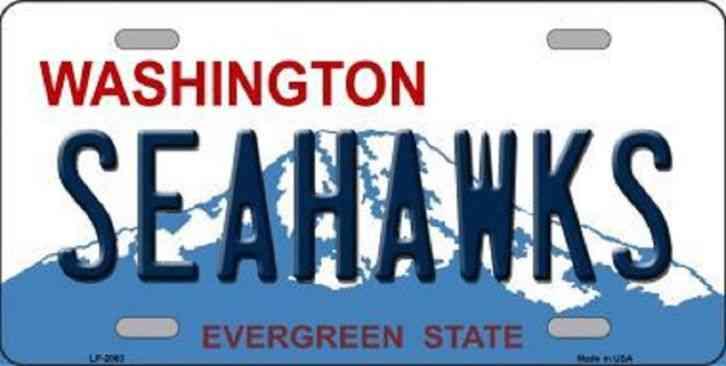New Car Purchase Washington State License Plates