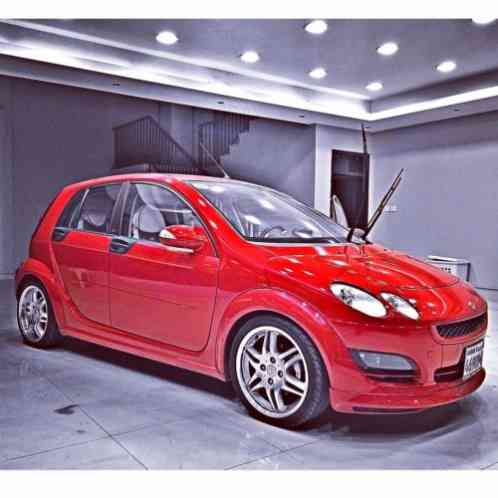 smart forfour brabus 2005 the car is in an amazing condition the one. Black Bedroom Furniture Sets. Home Design Ideas