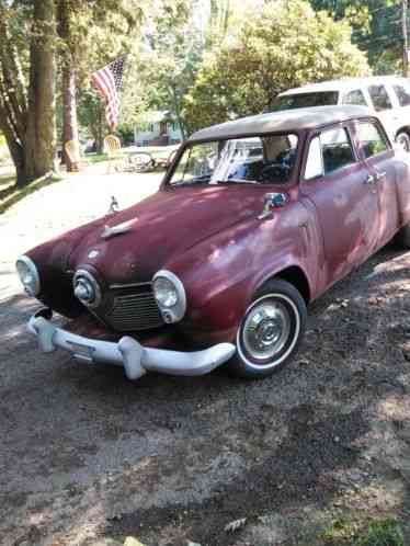 studebaker 4 door champion 1951 straight 6 with three on