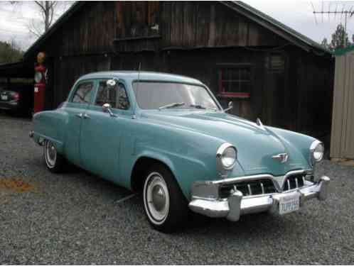 Studebaker champion 1952 four door sedan in excellent for 1952 packard 4 door sedan