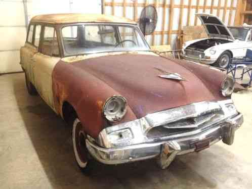 Studebaker Commander Deluxe 1955 No Reserve You Need To Check