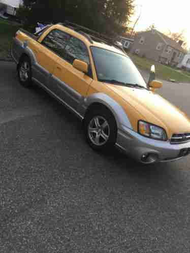 subaru baja 2003 this is a great family car and a small truck that can. Black Bedroom Furniture Sets. Home Design Ideas