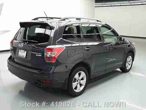 subaru forester 2 5i limited awd sunroof nav 9k mi 2015 condition. Black Bedroom Furniture Sets. Home Design Ideas