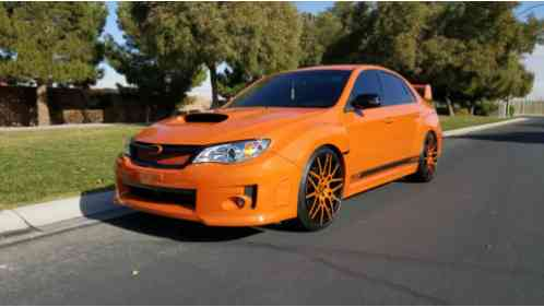 Subaru Wrx 2013 Extremely Rare Special Orange Amp Black