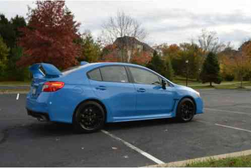 subaru wrx wrx sti 2016 up for sale is a hyper blue with only 350. Black Bedroom Furniture Sets. Home Design Ideas
