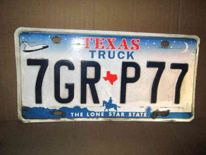 space shuttle license plate - photo #24