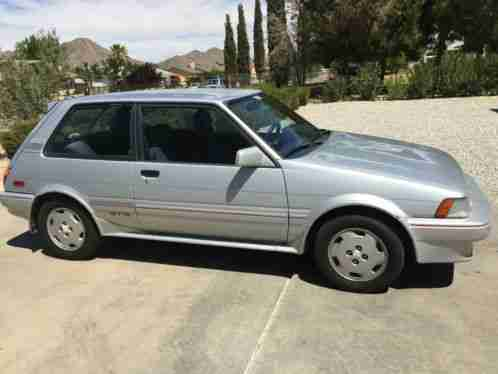 Toyota Corolla Tires >> Toyota Corolla FX16 GTS hatchback 4AGE 5-speed 1987, Collectors dream