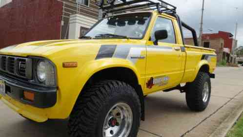 Toyota tacoma pickup 1979 selling hilux 4x4 four for 22r toyota motor for sale