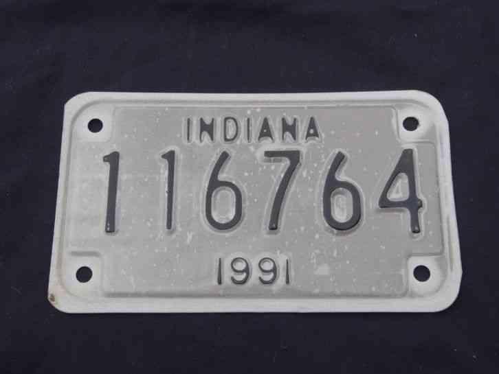 Unused 1991 Indiana Motorcycle 116764 Vintage Motorcycle