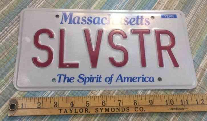 1969 Massachusetts Interstate Dpu Plate