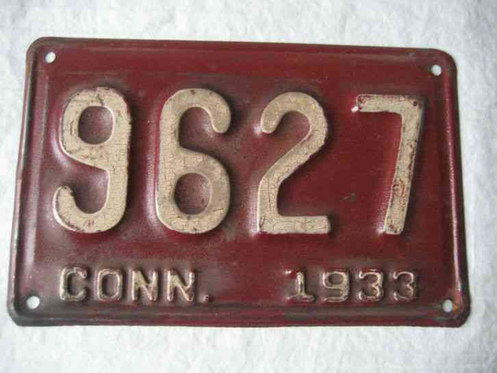 DMV: Classic Vehicle Plate - Connecticut
