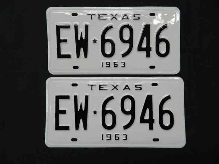 Arizona State License Plate >> VINTAGE 1955 TEXAS LICENSE PLATE HY 146 LOW NUMBER