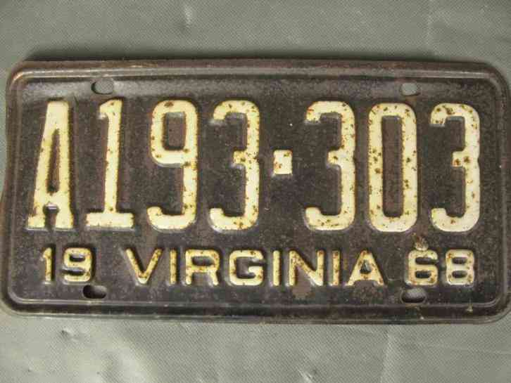 virginia vintage plates