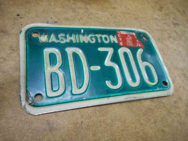 1969 washington state truck license plate catalog 201408. Black Bedroom Furniture Sets. Home Design Ideas
