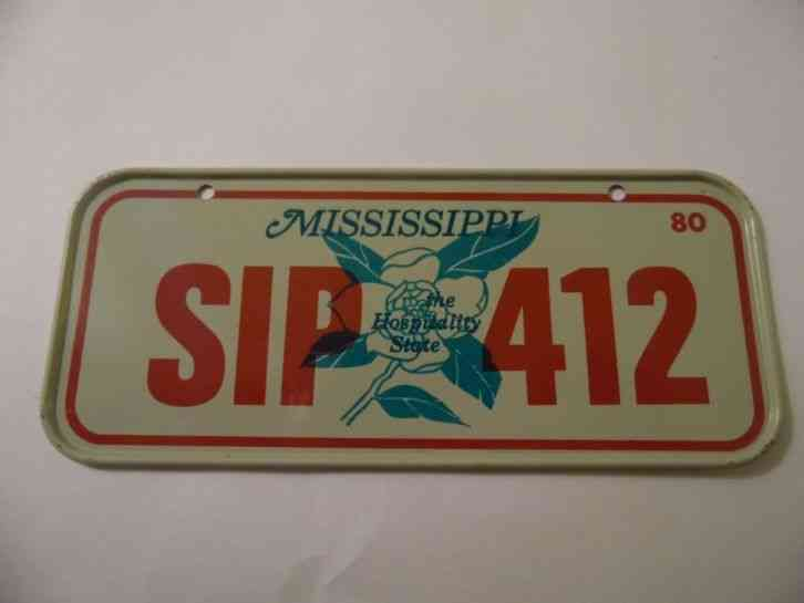 Mississippi Vintage Hunting Licenses