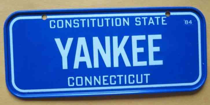 vintage connecticut license plate eBay