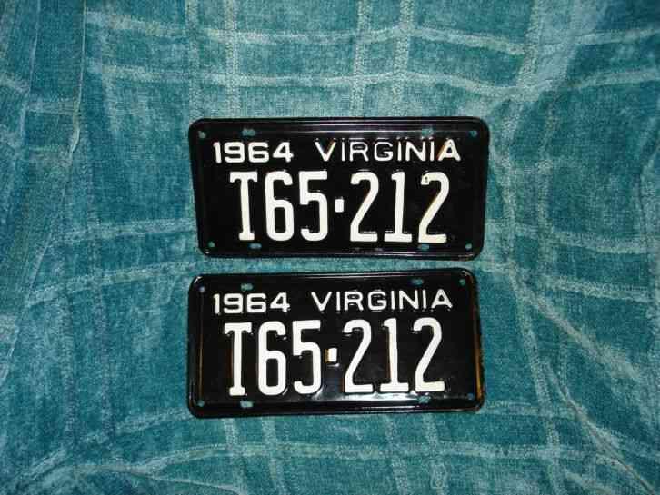 1964 pair vintage virginia