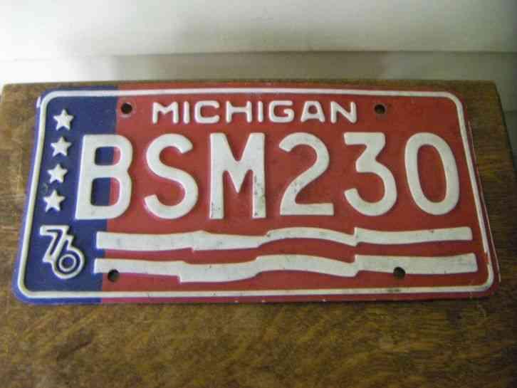 Michigan License Plates | Shop License Plates