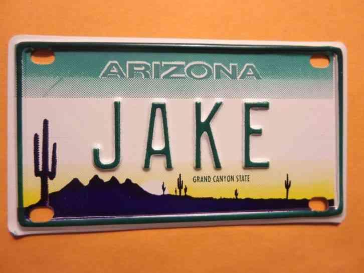 1978 Arizona Motorcycle License Plate
