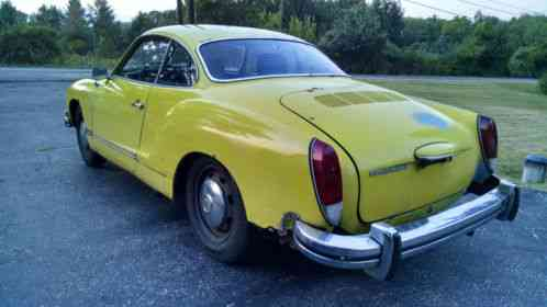 Volkswagen Karmann Ghia 1974 For Sale Is A A Last Year