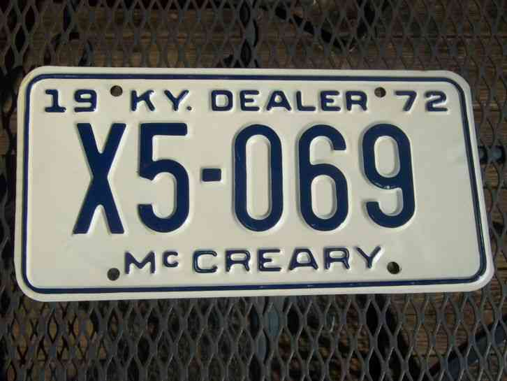 Dealer license west virginia my auto license autos post for Kentucky fishing license cost