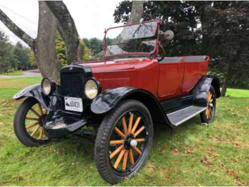 1922 Willys Model 4 Touring