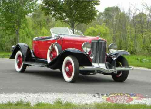1931 Cord 8-98A Boatail Speedster
